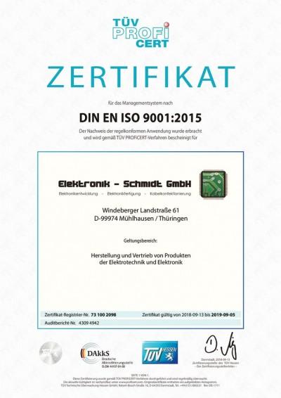 Die Elektronik Schmidt GmbH